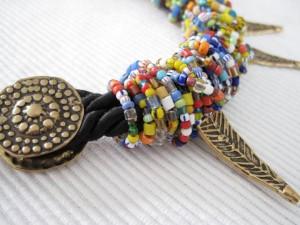 Kleurig Ghana met brons