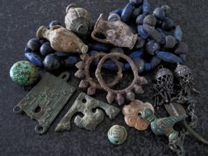 Unieke materialen o.a Mesopotamie, Egypte, Afghanistan