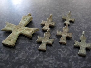 Byzantijnse kruisjes (600-950 na Chr.)