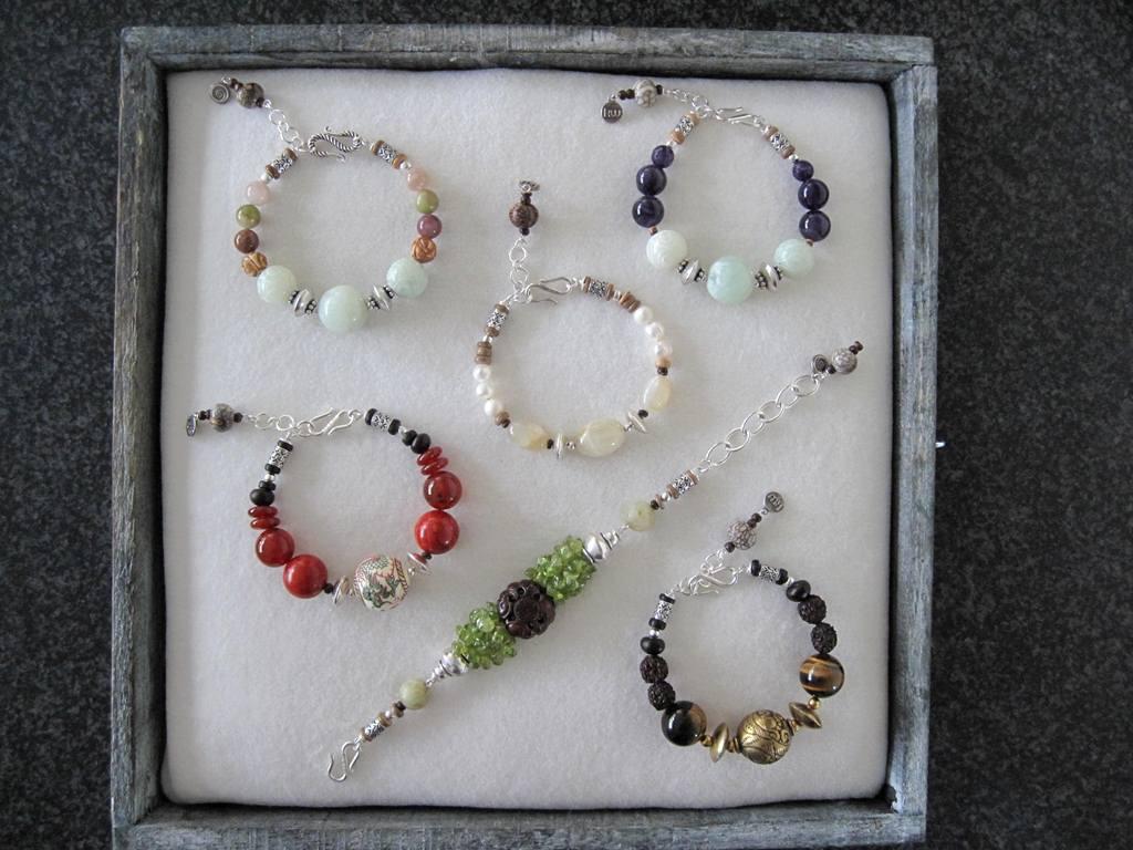 Mini collectie armbanden met Edelsteen - Favela Brasil- Kleurrijke Wereld Sieraden