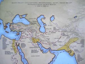 Handel tussen de Rivierbeschavingen - Kleurrijke Wereld Sieraden **
