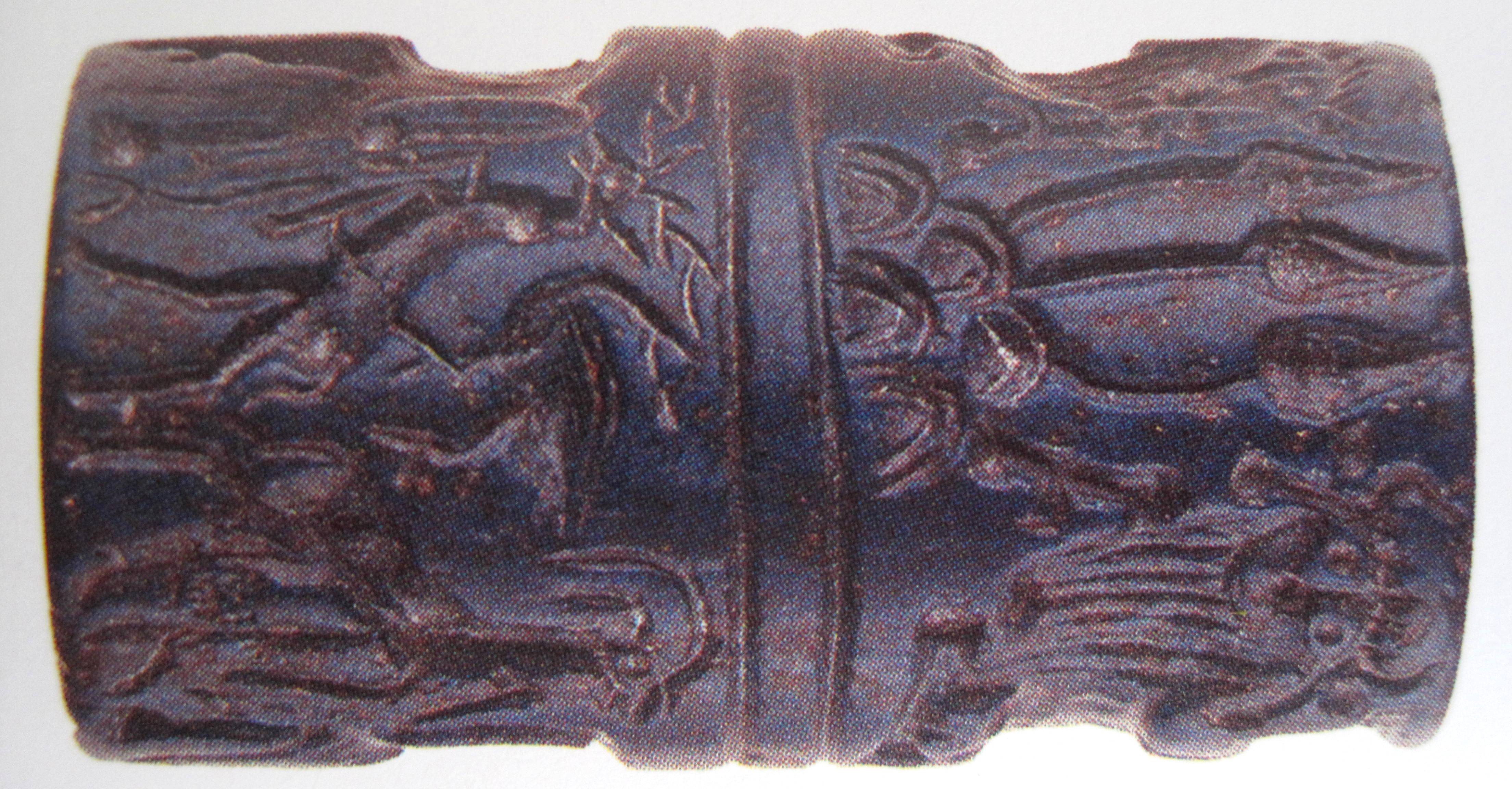 Rolzegel van Lapis Lazuli