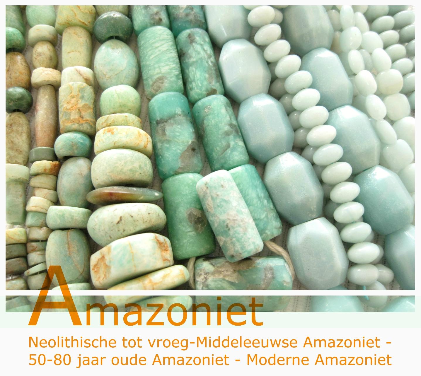 Amazoniet - Kleurrijke Wereld Sieraden