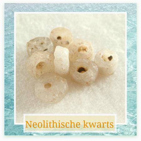 Neolithische kwarts klein - Kleurrijke Wereld Sieraden