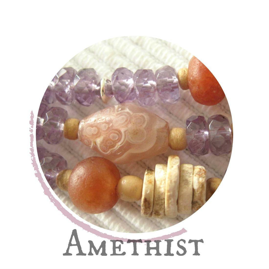 Amethist - kleurrijke wereld sieraden