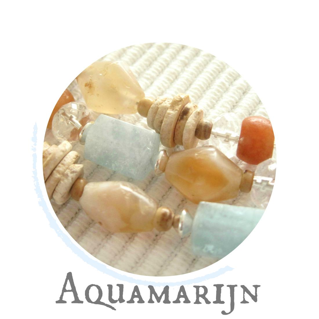 Aquamarijn - kleurrijke wereld sieraden