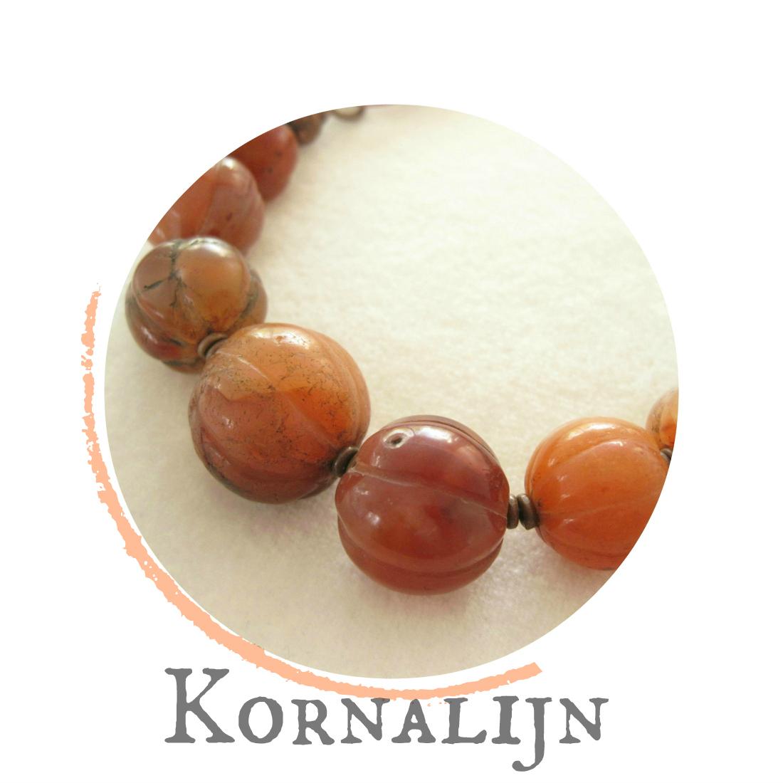 Kornalijn - kleurrrijke wereld sieraden