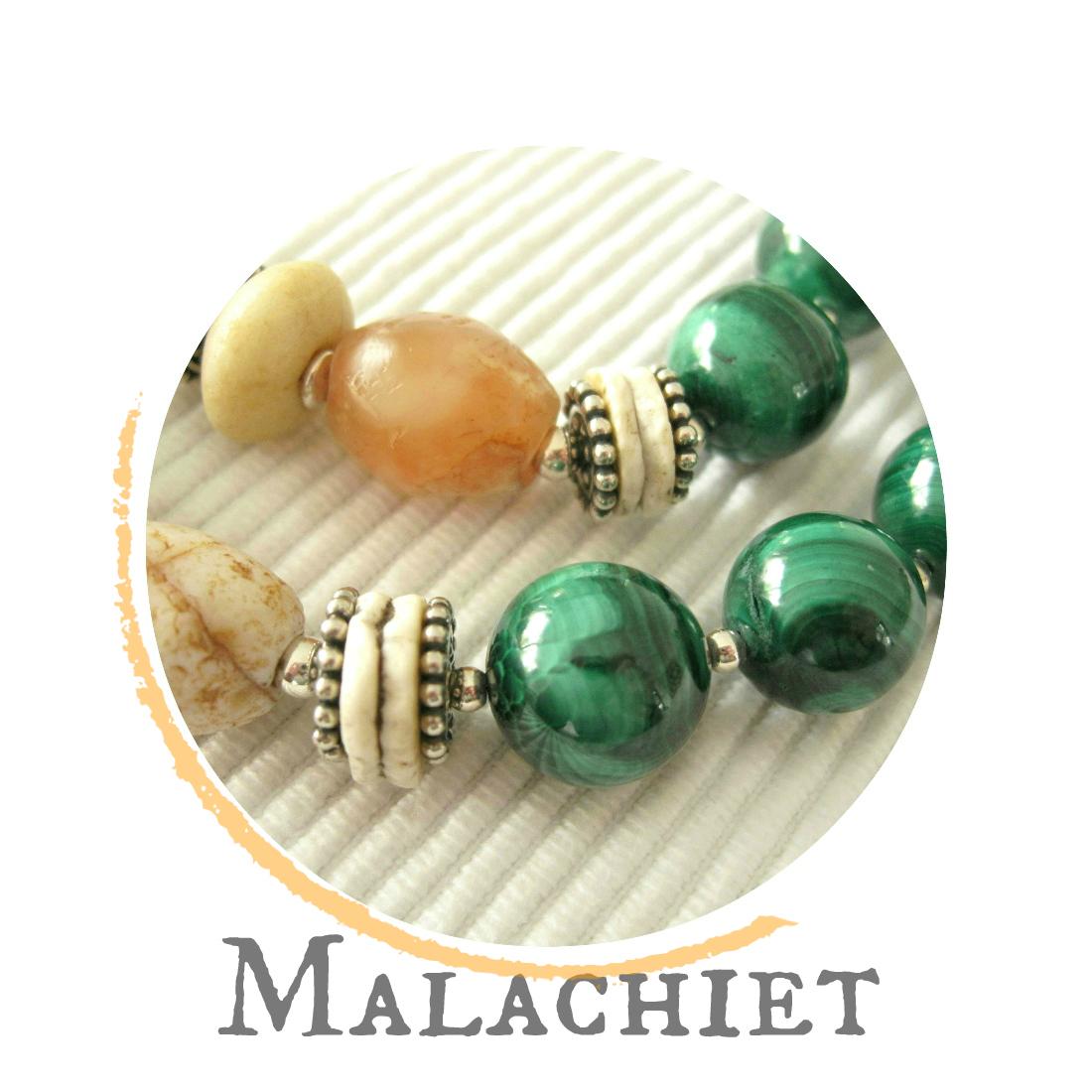 Malachiet - kleurrijke wereld sieraden