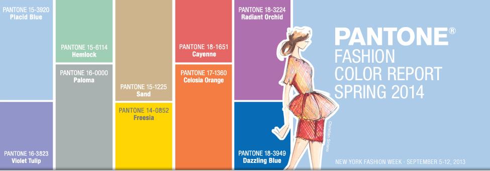 Pantone Modekleuren waaier - Kleurrijke Wereld Sieraden