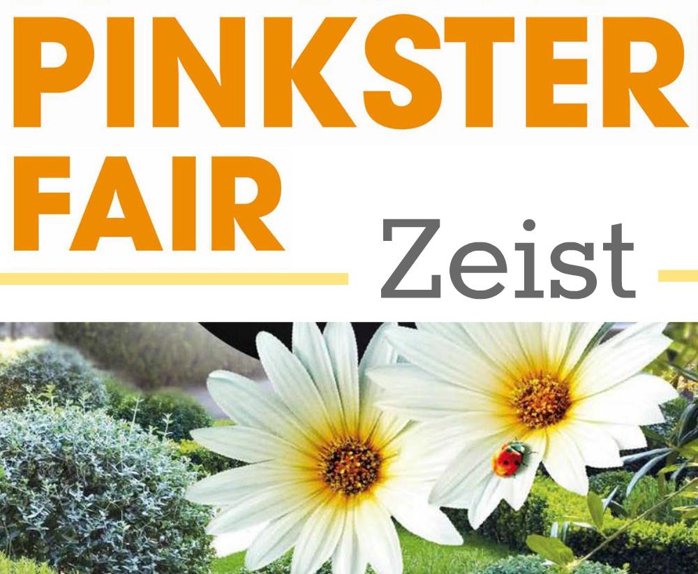Logo Pinksterfair - kleurrijke wereld sieraden