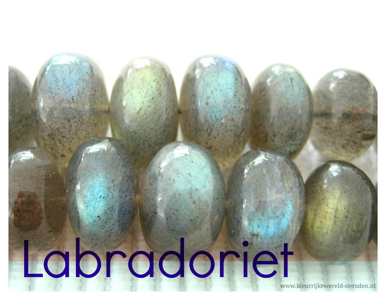 Labradoriet edelstenen - kleurrijke wereld sieraden - 1326