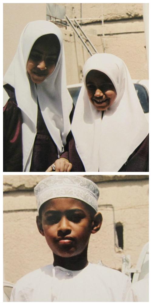 Schoolkinderen Midden Oosten - collage - 5 - kw sieraden